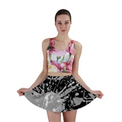 Art About Ball Abstract Colorful Mini Skirt