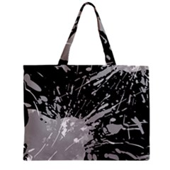 Art About Ball Abstract Colorful Zipper Mini Tote Bag