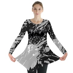 Art About Ball Abstract Colorful Long Sleeve Tunic