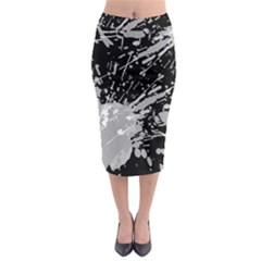 Art About Ball Abstract Colorful Midi Pencil Skirt
