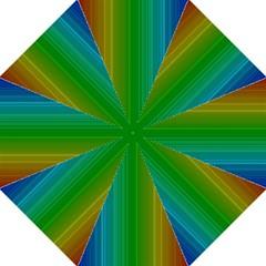 Spectrum Colours Colors Rainbow Hook Handle Umbrellas (Large)