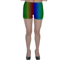 Spectrum Colours Colors Rainbow Skinny Shorts