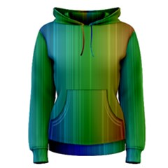 Spectrum Colours Colors Rainbow Women s Pullover Hoodie