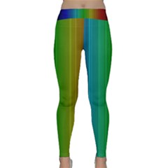 Spectrum Colours Colors Rainbow Classic Yoga Leggings
