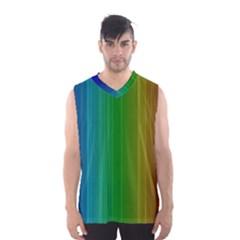 Spectrum Colours Colors Rainbow Men s Basketball Tank Top