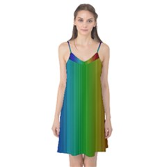Spectrum Colours Colors Rainbow Camis Nightgown