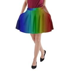 Spectrum Colours Colors Rainbow A-Line Pocket Skirt