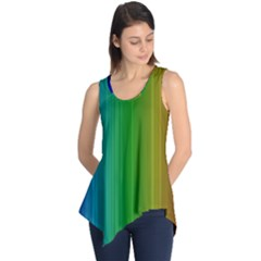 Spectrum Colours Colors Rainbow Sleeveless Tunic