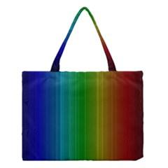 Spectrum Colours Colors Rainbow Medium Tote Bag