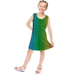 Spectrum Colours Colors Rainbow Kids  Tunic Dress