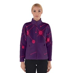 Abstract Lines Radiate Planets Web Winterwear