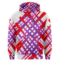 Chaos Bright Gradient Red Blue Men s Pullover Hoodie