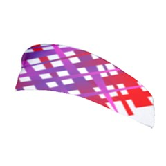 Chaos Bright Gradient Red Blue Stretchable Headband