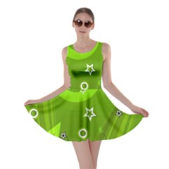 Art About Ball Abstract Colorful Skater Dress