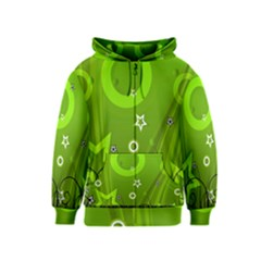 Art About Ball Abstract Colorful Kids  Zipper Hoodie