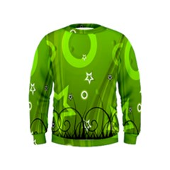 Art About Ball Abstract Colorful Kids  Sweatshirt