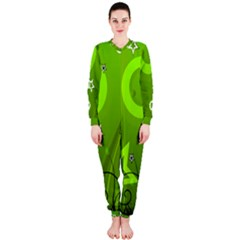 Art About Ball Abstract Colorful OnePiece Jumpsuit (Ladies)