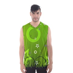 Art About Ball Abstract Colorful Men s Basketball Tank Top
