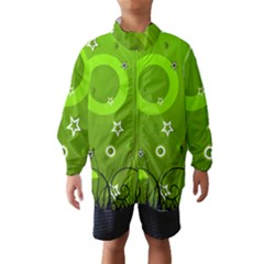 Art About Ball Abstract Colorful Wind Breaker (kids)