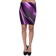 Fractal Mathematics Abstract Bodycon Skirt