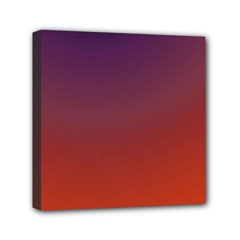 Course Colorful Pattern Abstract Mini Canvas 6  x 6