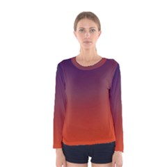 Course Colorful Pattern Abstract Women s Long Sleeve Tee