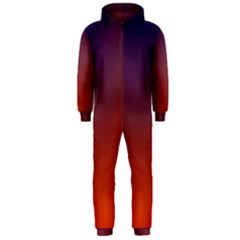 Course Colorful Pattern Abstract Hooded Jumpsuit (Men)