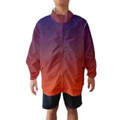 Course Colorful Pattern Abstract Wind Breaker (Kids)