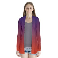 Course Colorful Pattern Abstract Cardigans