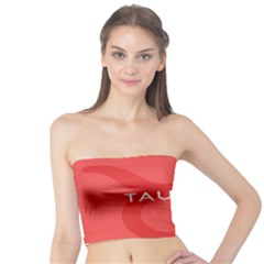 Zodizc Taurus Red Tube Top