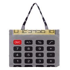 Calculator Medium Tote Bag