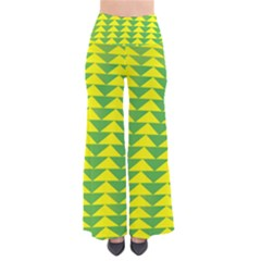 Arrow Triangle Green Yellow Pants