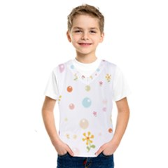 Flower Floral Star Balloon Bubble Kids  Sportswear