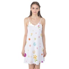 Flower Floral Star Balloon Bubble Camis Nightgown