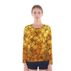 Gold Women s Long Sleeve Tee