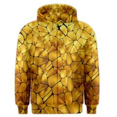 Gold Men s Zipper Hoodie