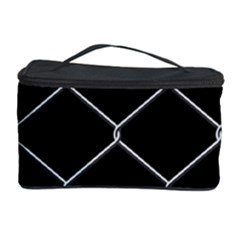 Iron Wire White Black Cosmetic Storage Case