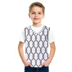 Iron Wire Black White Kids  Sportswear