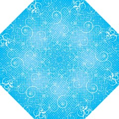 Leaf Blue Snow Circle Polka Star Folding Umbrellas