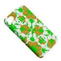 Graphic Floral Seamless Pattern Mosaic Apple iPhone 4/4S Hardshell Case with Stand View5