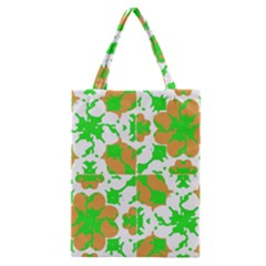 Graphic Floral Seamless Pattern Mosaic Classic Tote Bag