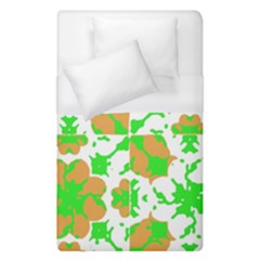 Graphic Floral Seamless Pattern Mosaic Duvet Cover (Single Size)