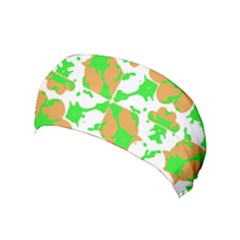 Graphic Floral Seamless Pattern Mosaic Yoga Headband