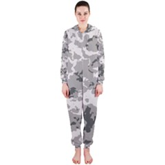 Winter Camouflage Hooded Jumpsuit (ladies)