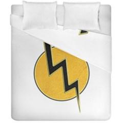 Lightning Bolt Duvet Cover Double Side (california King Size)