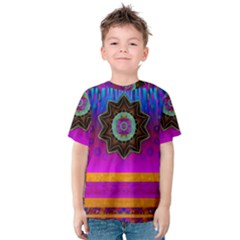 Air And Stars Global With Some Guitars Pop Art Kids  Cotton Tee