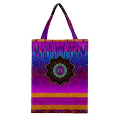 Air And Stars Global With Some Guitars Pop Art Classic Tote Bag