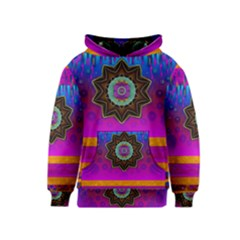 Air And Stars Global With Some Guitars Pop Art Kids  Pullover Hoodie