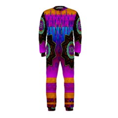 Air And Stars Global With Some Guitars Pop Art Onepiece Jumpsuit (kids)