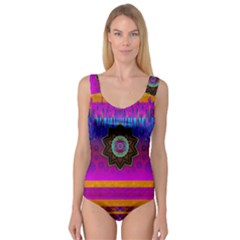 Air And Stars Global With Some Guitars Pop Art Princess Tank Leotard
